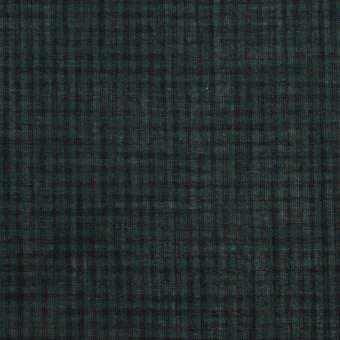 コットン×チェック(モスグリーン)×ボイル_全4色 サムネイル1