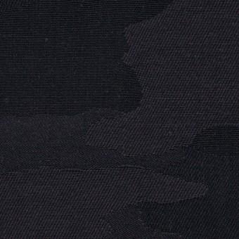 【150cmカット】コットン×迷彩(チャコールブラック)×ジャガード