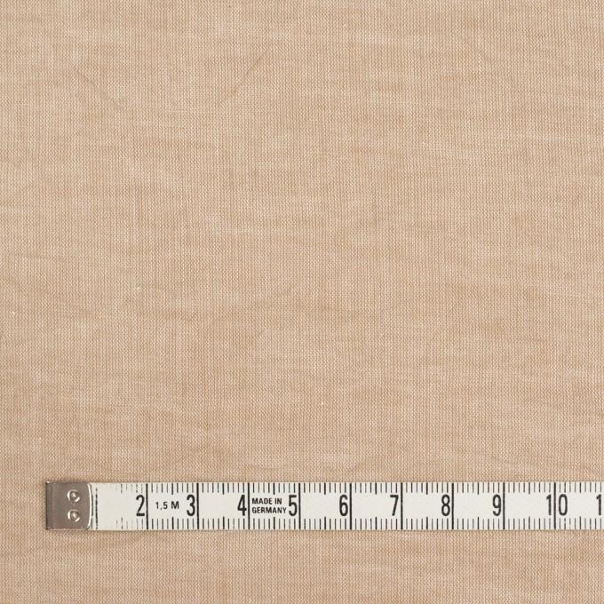 コットン&リネン×無地(ベージュ)×ボイルワッシャー イメージ4