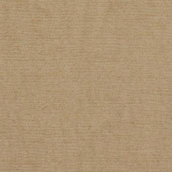 リネン&ビスコース×無地(カーキベージュ)×シャンタン_イタリア製 サムネイル1