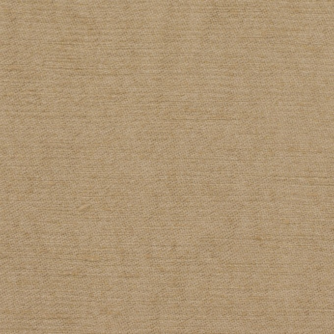 リネン&ビスコース×無地(カーキベージュ)×シャンタン_イタリア製 イメージ1