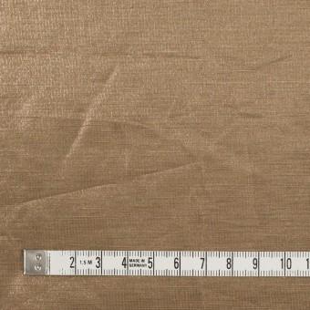 リネン&ポリエステル×無地(セピア)×オーガンジー_イタリア製 サムネイル4
