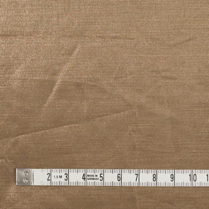 リネン&ポリエステル×無地(セピア)×オーガンジー_イタリア製 イメージ4