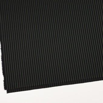コットン×ストライプ(モスグリーン&ブラック)×ブロードジャガード_全2色 サムネイル2