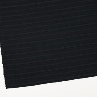 コットン×ボーダー(チャコールブラック)×ボイルジャガード サムネイル2