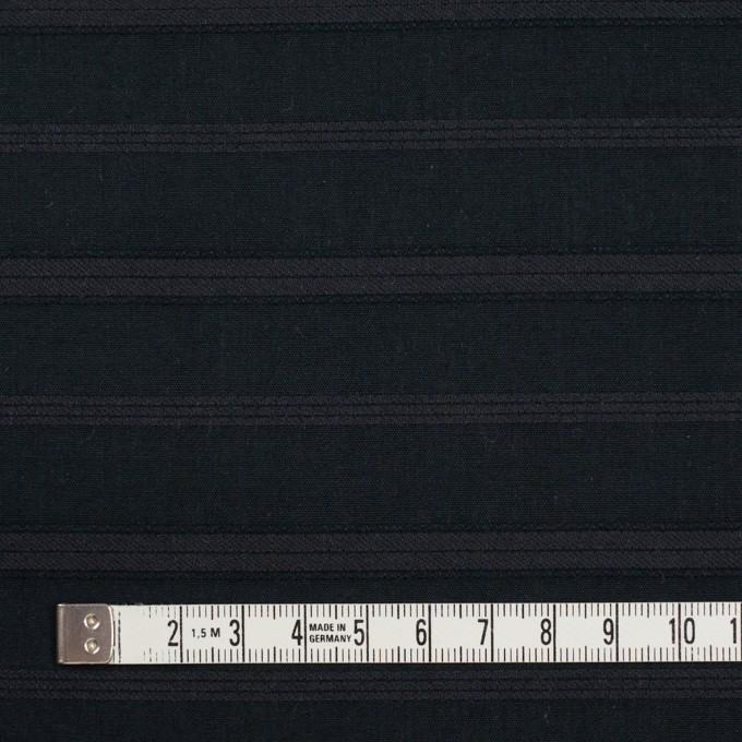 コットン×ボーダー(チャコールブラック)×ボイルジャガード イメージ4