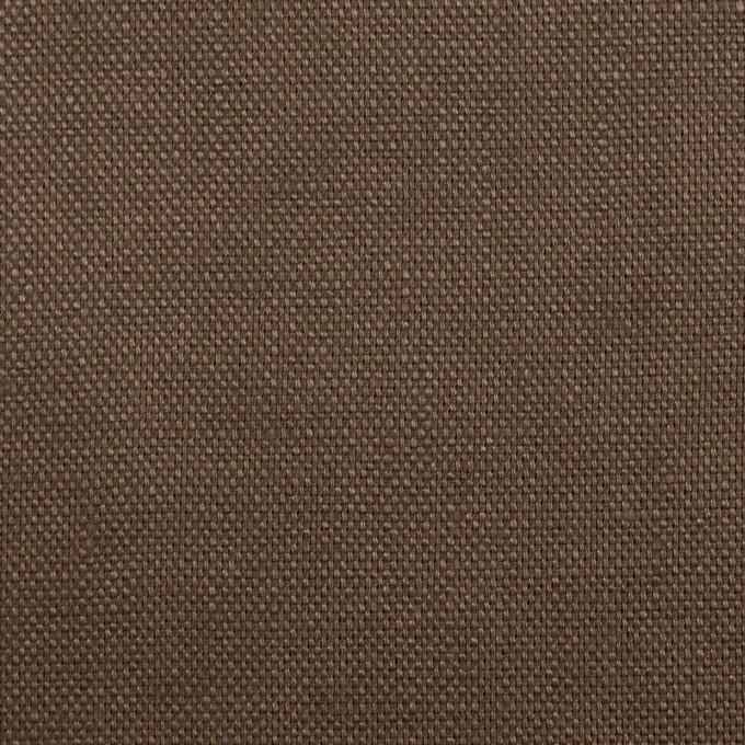 リネン×無地(モカブラウン)×オックスフォード_全4色 イメージ1