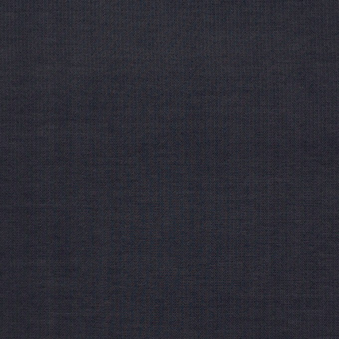ビスコース&シルク×無地(ダークネイビー)×オーガンジー_イタリア製 イメージ1
