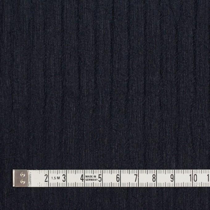 シルク×無地(ダークネイビー)×Wジョーゼット_全2色 イメージ4