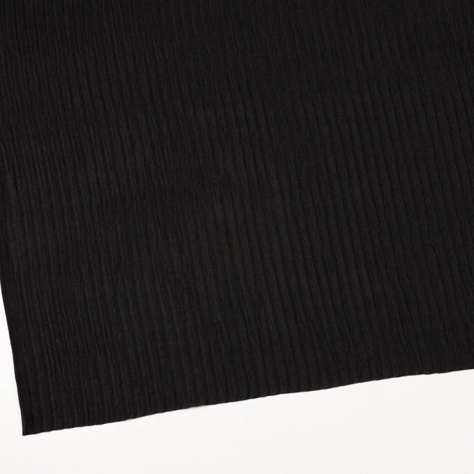 シルク×無地(ブラック)×Wジョーゼット_全2色 イメージ2