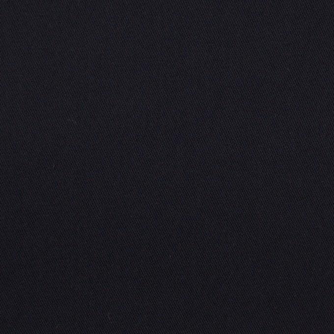 ポリエステル×無地(ダークネイビー)×サージ_イタリア製 イメージ1