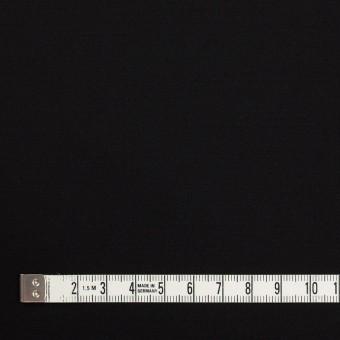 レーヨン&ウール×無地(ブラック)×サテン サムネイル4