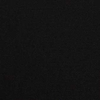 レーヨン&ウール×無地(ブラック)×サテン