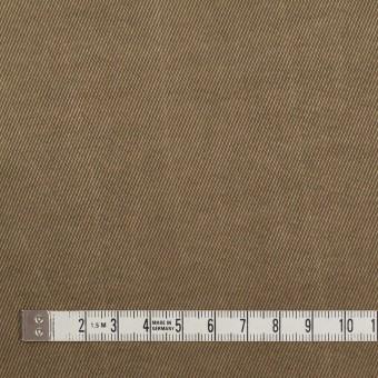 コットン&ビスコース混×無地(ブロンズ)×サージストレッチ_イタリア製 サムネイル4