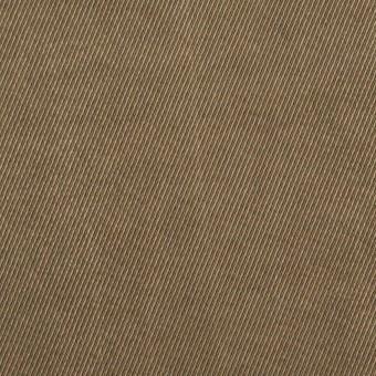 コットン&ビスコース混×無地(ブロンズ)×サージストレッチ_イタリア製 サムネイル1