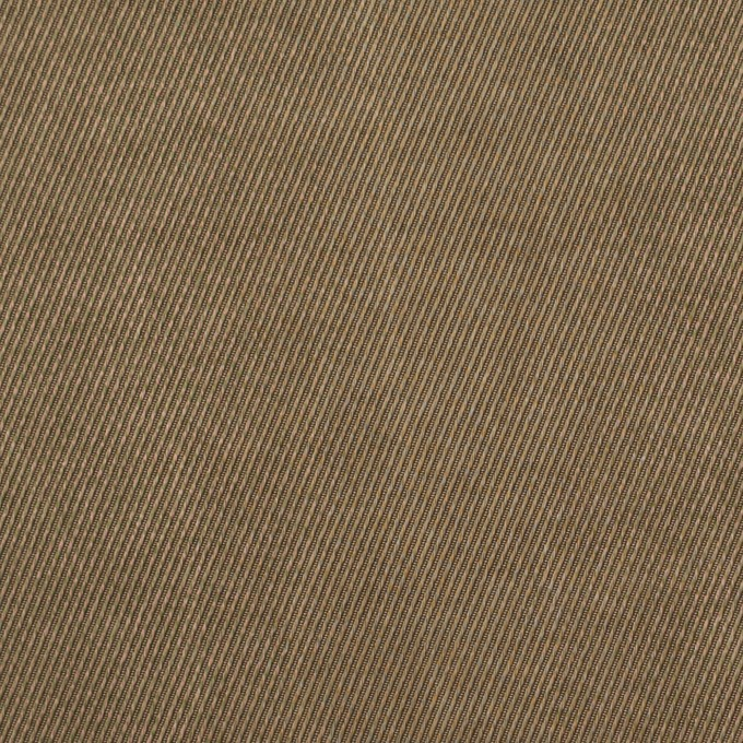 コットン&ビスコース混×無地(ブロンズ)×サージストレッチ_イタリア製 イメージ1