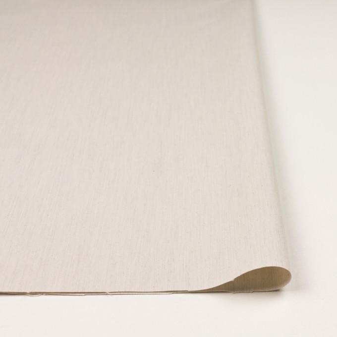 コットン×無地(アイボリー)×かわり織_全2色 イメージ3