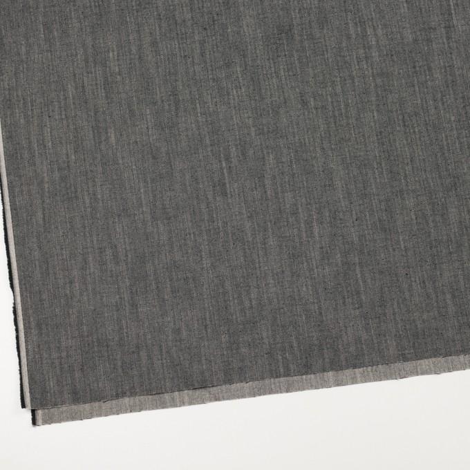 コットン×ミックス(アイボリー&ブラック)×ヘリンボーン イメージ2