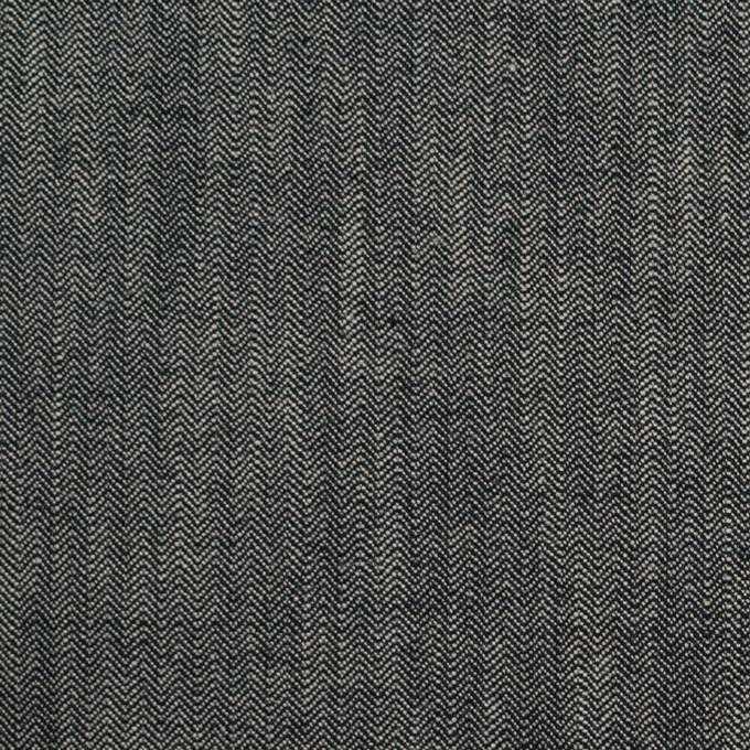 コットン×ミックス(アイボリー&ブラック)×ヘリンボーン イメージ1