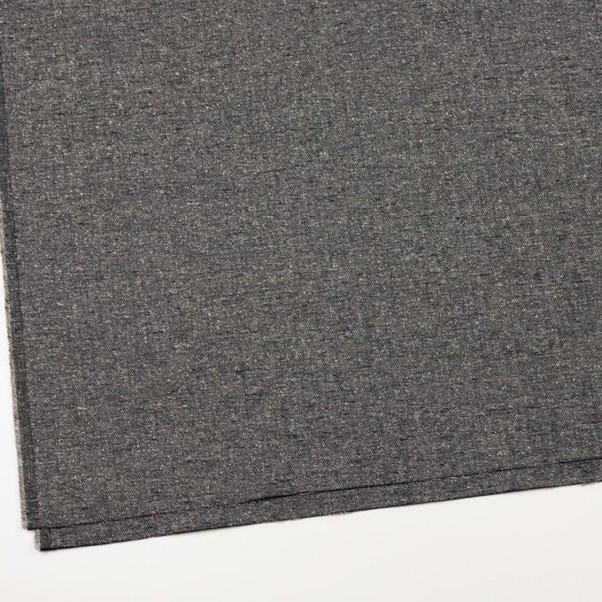 コットン×ミックス(グレー&ブラック)×ヘリンボーン イメージ2
