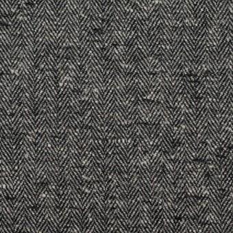 コットン×ミックス(グレー&ブラック)×ヘリンボーン サムネイル1