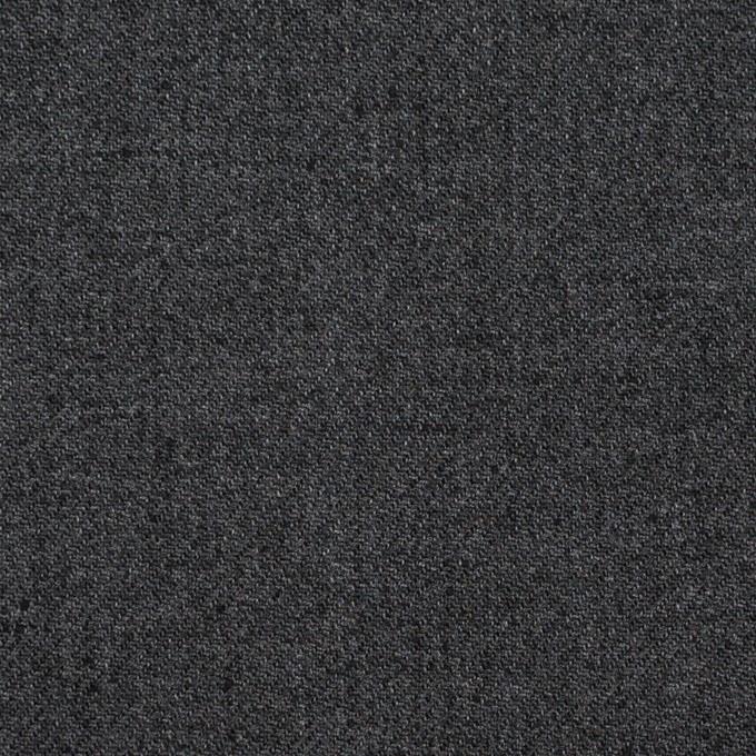 コットン&ポリエステル×無地(チャコールグレー)×サージ_全6色 イメージ1
