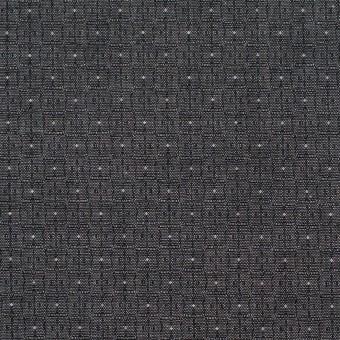 コットン×幾何学模様(チャコール)×ジャガード_全2色 サムネイル1