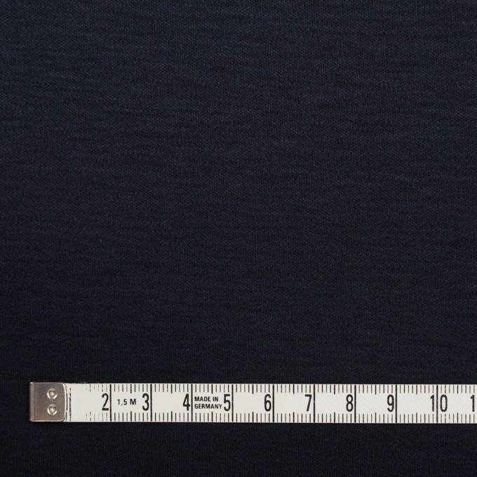 コットン&モダール×無地(ダークネイビー)×スムースニット イメージ4