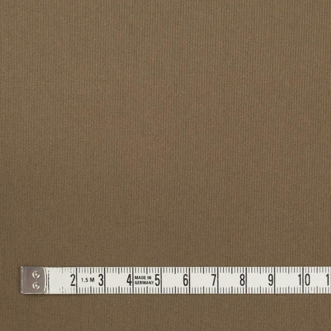 リヨセル&ポリウレタン×無地(ローアンバー)×トリコット_全4色 イメージ4