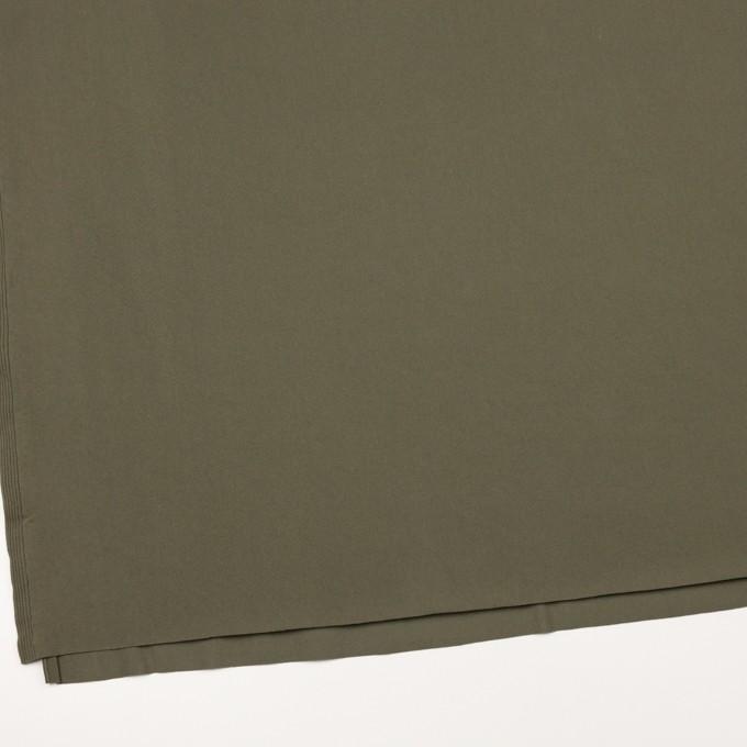 リヨセル&ポリウレタン×無地(カーキグリーン)×トリコット_全4色 イメージ2