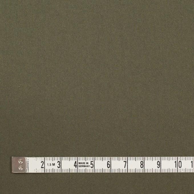 リヨセル&ポリウレタン×無地(カーキグリーン)×トリコット_全4色 イメージ4