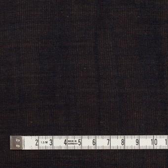 ウール&シルク×無地(ダークネイビー&ゴールド)×トリプルガーゼ_イタリア製 サムネイル4