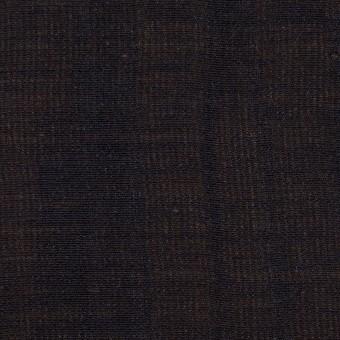 ウール&シルク×無地(ダークネイビー&ゴールド)×トリプルガーゼ_イタリア製 サムネイル1