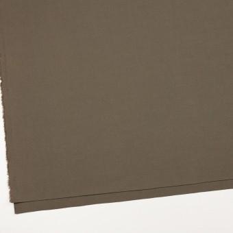 コットン&リネン混×無地(モスグレー)×キャンバス・ストレッチ_イタリア製 サムネイル2