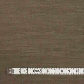 コットン&リネン混×無地(モスグレー)×キャンバス・ストレッチ_イタリア製 サムネイル4
