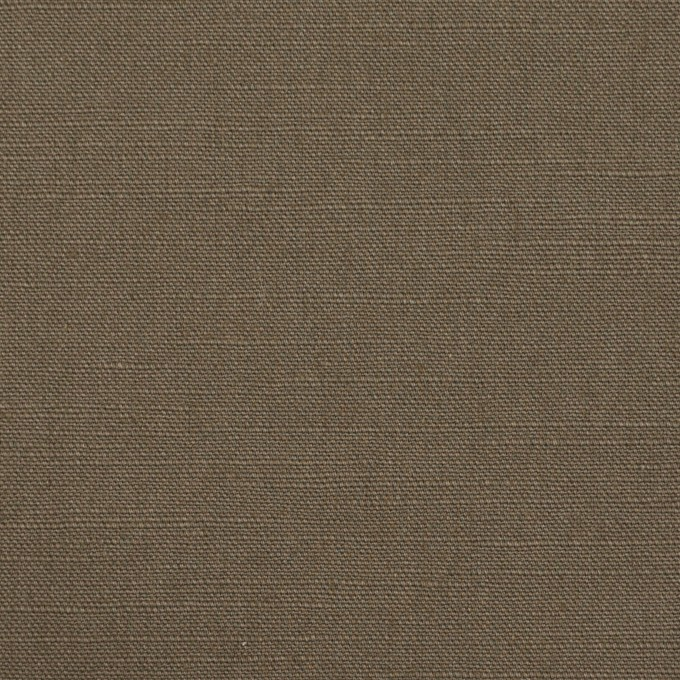 コットン&リネン混×無地(モスグレー)×キャンバス・ストレッチ_イタリア製 イメージ1