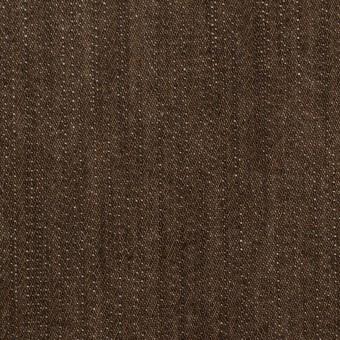 コットン&ポリウレタン×無地(ダークブラウン)×カツラギ・ストレッチ サムネイル1