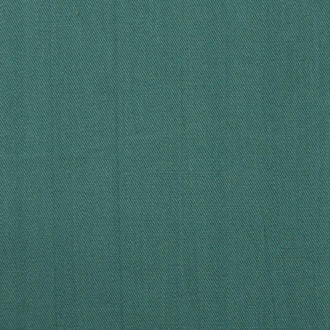 コットン×無地(ターコイズグリーン)×サージワッシャー_全4色 イメージ1