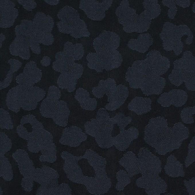 ポリエステル×幾何学模様(ダークネイビー)×形状記憶ジャガード イメージ1