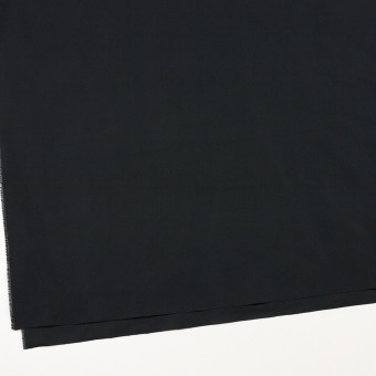 ポリエステル×無地(チャコールブラック)×形状記憶タフタ_イタリア製 サムネイル2