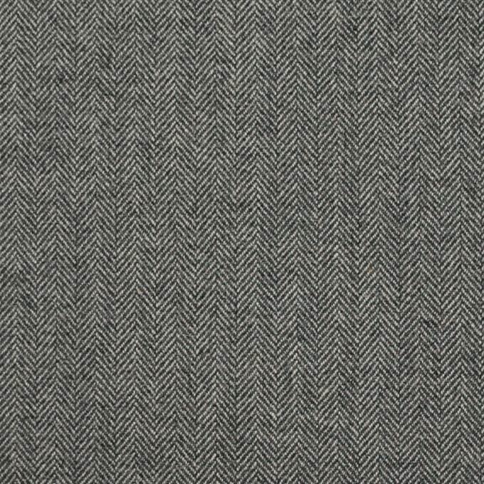 コットン&ポリウレタン×ミックス(グレー)×ヘリンボーン・ストレッチ イメージ1