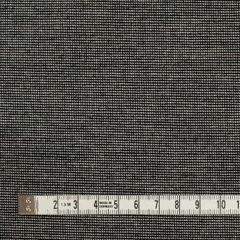 コットン&ポリウレタン×ミックス(チャコール)×かわり織ストレッチ サムネイル4