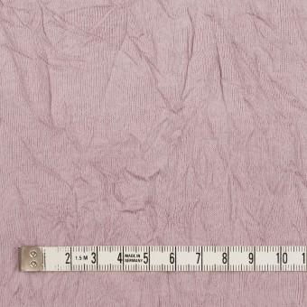 コットン&ポリエステル×無地(グレイッシュピンク)×天竺ニットワッシャー_全3色 サムネイル4