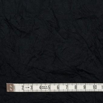 コットン&ポリエステル×無地(ブラック)×天竺ニットワッシャー_全3色 サムネイル4