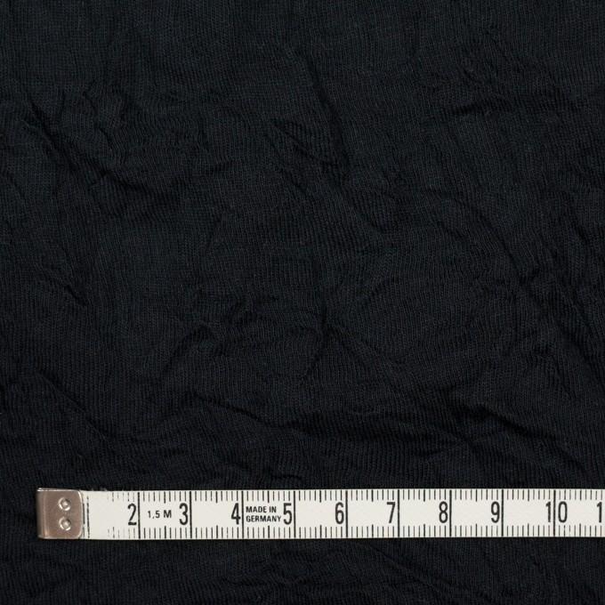 コットン&ポリエステル×無地(ブラック)×天竺ニットワッシャー_全3色 イメージ4