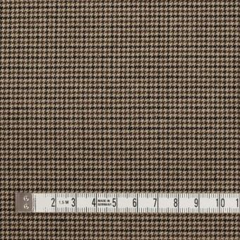 ポリエステル&レーヨン混×チェック(モカ)×千鳥格子ストレッチ サムネイル4