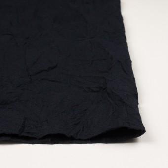 ウール×無地(ブラック)×ガーゼワッシャー_全4色 サムネイル3