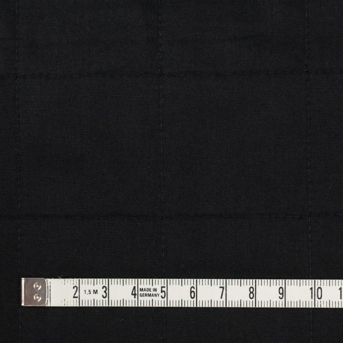 コットン&ウール×無地(ブラック)×ブロード&ビエラ イメージ4
