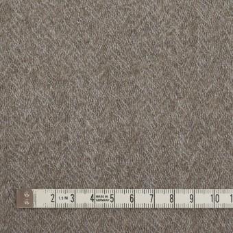 ウール×無地(アッシュグレー)×ヘリンボーン・ガーゼ サムネイル4
