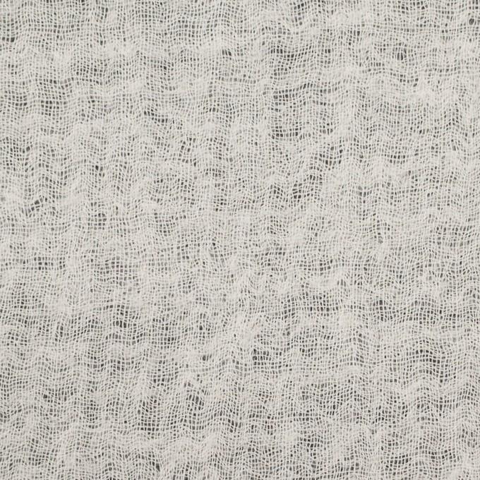 ウール×無地(キナリ)×ガーゼ イメージ1